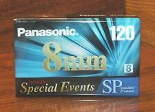 Panasonic (NVP6120SP) 120 8mm Camcorder Video Tape Formulated for Special Events