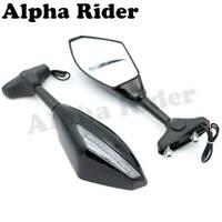 Rearview Mirrors W/Turn Signal Indicator For Street Bike Honda CBR 600 1987 2006