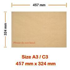 2000 C3 dur A3 board les enveloppes renforcées lendemain 24hr livraison 457mm x 324mm