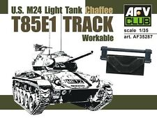 AFV35287 1/35 AFV CLUB  T85E1 TRACK for U.S. M24 Light Tank (Workable)