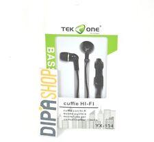 Cuffie Auricolari TeKone YX-134 con Mcrofono Per Smartphone Tablet Pc 3,5mm hsb