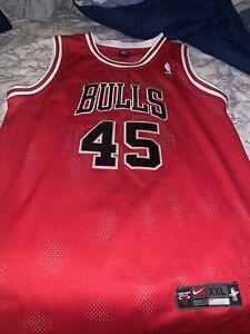 Michael Jordan Chicago Bulls #45 Comeback Nike Swingman Jersey XXL NWOT