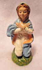Vintage Paper Mache Mary Christmas Nativity Manger Figurine