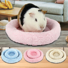 Soft Fleece Guinea Pig Bed Winter Small Animal Cage Mat Hamster Sleeping
