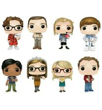 THE BIG BANG THEORY FUNKO POP! COMPLETE SET OF 8 In hand