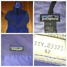 Vtg PATAGONIA Men's Torre Purple Hooded Expedition Jacket Size Small