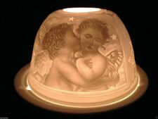 BEAUTIFUL Cherub Porcelain Candle Tea Light Candle Holder, angel, night light