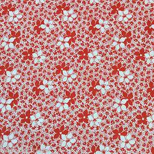 1930s Style Floral Designer Dressmaking Quilting Craft Cotton Fabric Fat Quarter
