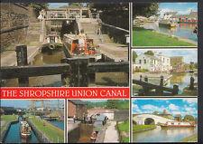Shropshire Postcard - Views of The Shropshire Union Canal  B2372