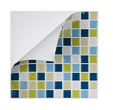 Tic Tac Tiles® - Premium 3D Peel & Stick Wall Tile in Peacock Green(5 sheets)