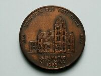 Woodstock ON CANADA 1970 Coin Club Medal with Post Office Building as City Hall