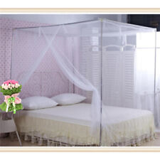 Mosquito Net Canopy Fly Insect Protect Single Entry For Double King Bed  RE