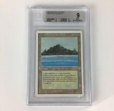 MTG Revised 3RD Tropical Island BGS 9 MINT [9 9 9 9.5]  Magic Rare Dual Land