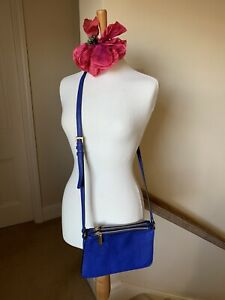 Royal Blue Cross Body Bag