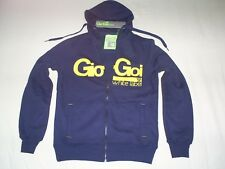 GIO GOI HOODY-White Label style RAKE FZ HOODY in navy (small)