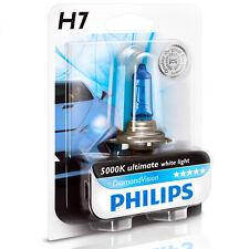 PHILIPS Diamond Vision 5000k Headlight Light Bulb H7 - Authentic Germany