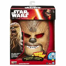 Star Wars The Force Awakens Chewbacca Electronic Talking Mask (Brand New in Box)