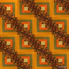 16 Block Log Cabin Quilt Kit Pre-Cut AUTUMN DAYS by eyecandyfabrics NEW