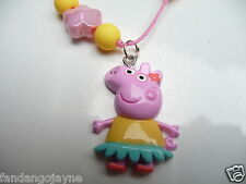 Peppa Pig beaded necklace - Costume Jewellery Necklace