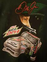 VTG NASCAR #88 Dale Earnhardt Jr Diet Mountain Dew Chase Authentics T Shirt 3XL