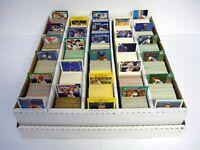 HUGE LOT OF 5,000 BASEBALL CARDS #4 Leaf Score Upper Deck BOX INCLUDED 1990-1992