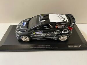 Ford Fiesta WRC RS Minichamps  Rally France Alsace 1:18 1/18 Modell Modellauto