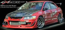 VARIS FRONT BUMPER FRP FOR MITSUBISHI EVO 9 CT9A 4G63 (FRONT BUMPER ONLY )