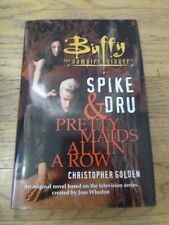 Buffy Vampire Slayer Spike & Dru Pretty Maids All Row SIGED Christopher Golden