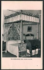 C1950's View of the Embroidered Bed, Glamis Castle, Scotland
