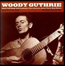 CD musicali folk country woody guthrie