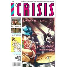 2000AD Presents Crisis #50 September 1990 Comic Magazine Fleetway mature readers
