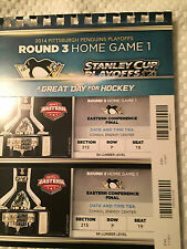 Pittsburgh Penguins Stanley Cup Playoffs Ticket Stubs Round 3 Home Game 1