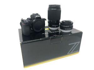Nikon Z50 Mirrorless Digital Camera + 16-50mm + 50-250mm Lenses UK NEXT DAY DEL