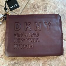 BNWT DKNY Purple Clutch Bag