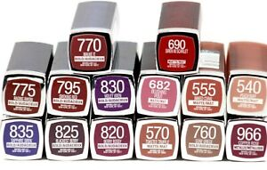 Maybelline Color sensational The Loaded Bolds And Matte Lipstick, You Choose