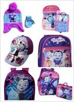 Disney Vampirina Girls School Bag , Baseball Cap & Hat Set
