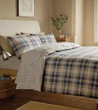 Checked 100% Cotton Fitted Sheets