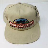 Vintage K Products Parts Country Snapback Trucker Hat John Deere New With Tag