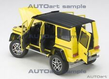 Autoart  MERCEDES BENZ G500 4X4² 2016 ELECTRIC BEAM/YELLOW 1/18 Scale In Stock!