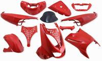 Cubierta Kit de Disfraces Piezas de Revestimiento Rojo Aprilia Sr 50 SR50 SR125