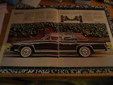 1984 Mercury Grand Marquis Sales Brochure - Vintage
