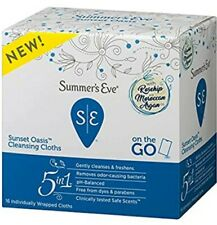Summers Eve Sunset Oasis Cleansing Cloths For Feminine Hygiene, Personal Care