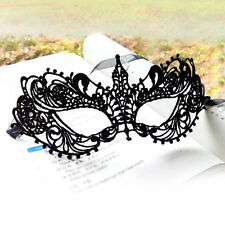 Helloween Black Lace Sexy Masquerade Dance Party Pointed Women Eye Mask 20*8cm