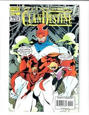 The Cladestine They Live Among Us! Beware #10 Jul 1995 Marvel Comic.#73360D*9