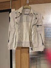 Cotton Vegan Leather Vest
