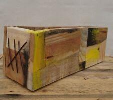 Wooden box, Pallet box, Reclaimed wooden box, storage box, Wood box, box,