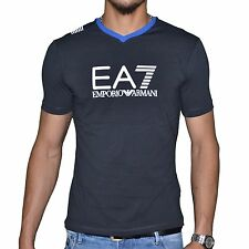 Original T-Shirt EMPORIO ARMANI EA7 Train Graph V  273814  Bleu T.S NEUF