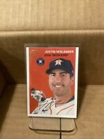 2020 Topps Gallery Heritage Justin Verlander #HT-15 Houston Astros. AL CY YOUNG