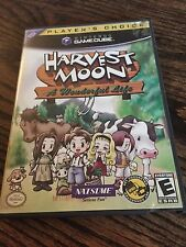 Harvest Moon: A Wonderful Life  Nintendo GameCube Game With Manual Works G1
