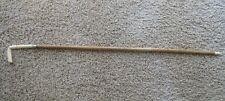 Antique Original Edwardian Ladies' Walking Stick Cane Carved Bovine Bone 1900s